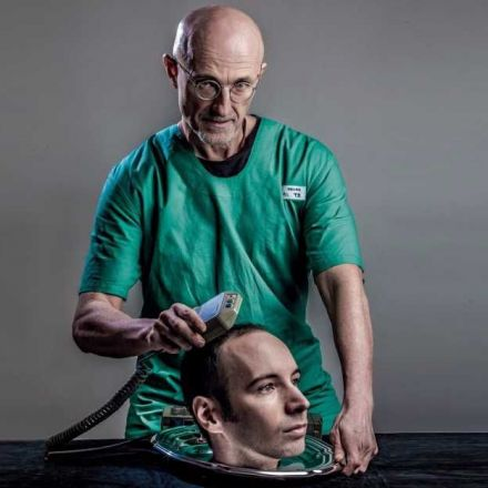 A doctor is ready to perform first human head transplant