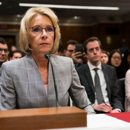 18 States Sue Betsy DeVos Over Student Loan Protections