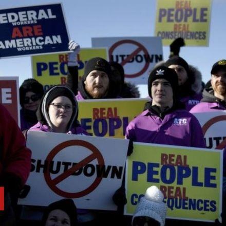 US flight delays amid federal shutdown