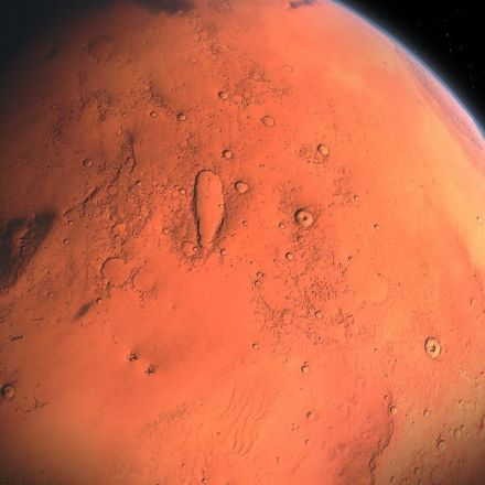 Mars is said to have had the right conditions to host life around 3.8 billion years ago.