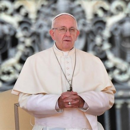 Pope Francis urges action on 'endless fields' of plastic in the world's oceans