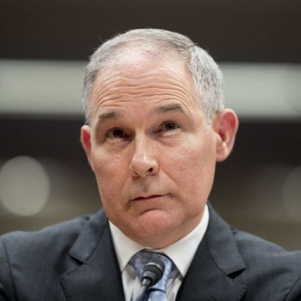 The Latest: EPA bars AP, CNN from summit on contaminants