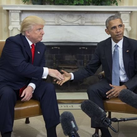 Donald Trump said his approval rating is higher than Obama's. Big mistake