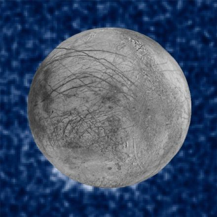 Hubble spots possible water plumes erupting on Jupiter's moon Europa