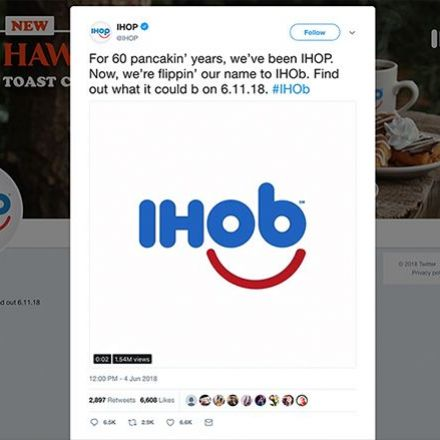 IHOP reveals the mystery of IHOb