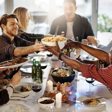 Here's Why We Eat More When We're With Friends And Family