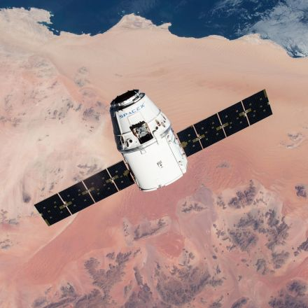 A SpaceX Delivery Capsule May Be Contaminating the ISS