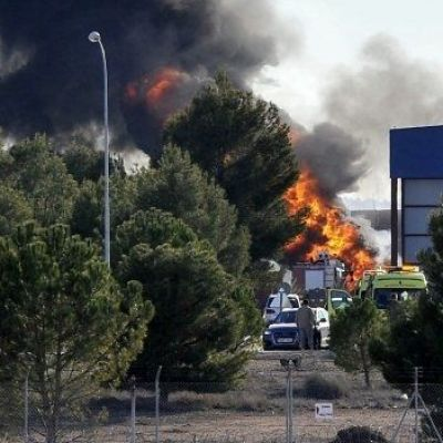 Fighter jet crash in Spain kills 10