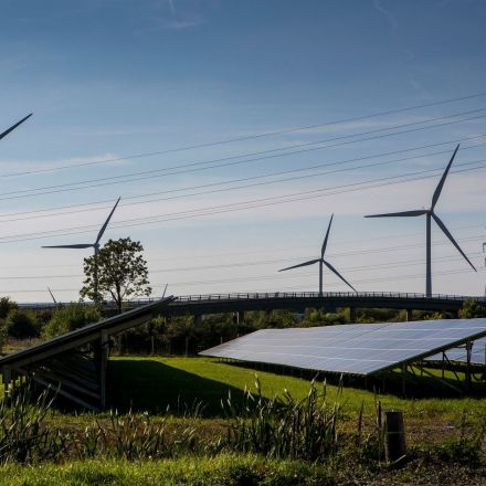 Wind and solar make more electricity than nuclear for first time in UK