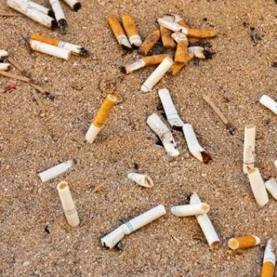 Cigarette butts are polluting the ocean more than plastic straws — so why not ban these?