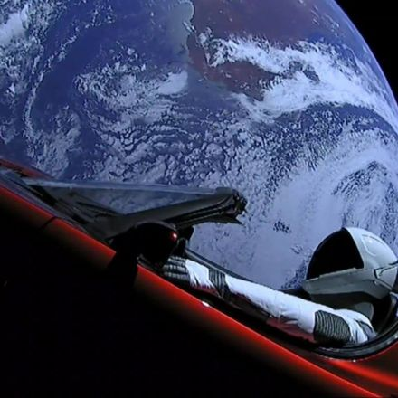 Elon Musk releases beautiful new video of Tesla Roadster and 'Starman' launching into space on SpaceX's Falcon Heavy