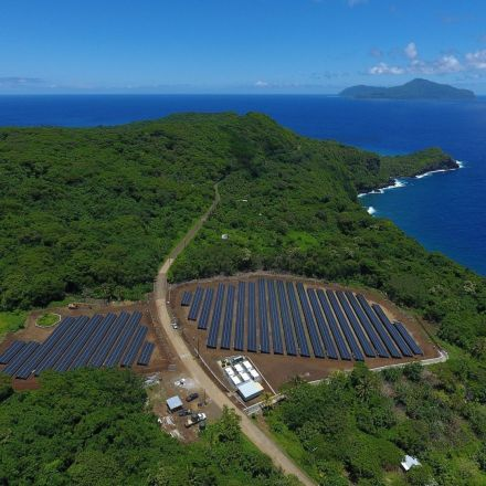 This island is now powered almost entirely by solar energy