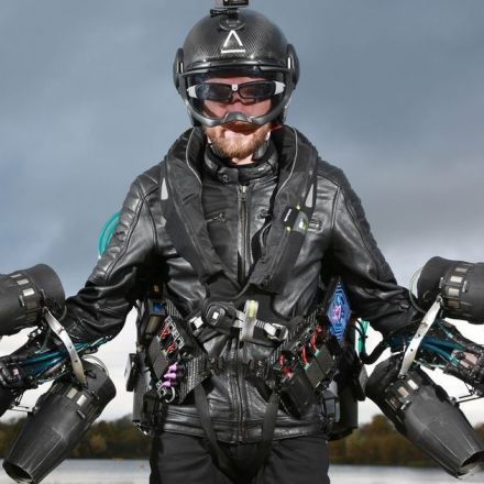 Real-life Iron Man breaks record for fastest speed in a jet-powered flight suit
