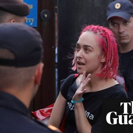 Pussy Riot members rearrested after leaving prison – video