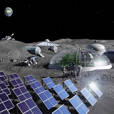 ESA researchers built a plant that can extract oxygen from the moon