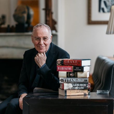 How do you top 'Hamilton'? Author Ron Chernow is about to find out.