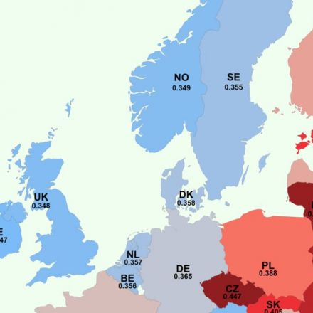 This map shows what white Europeans associate with race – and it makes for uncomfortable reading