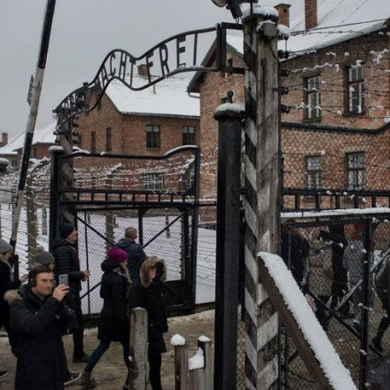 On the Way to Auschwitz, I Found 'Heil Hitler' Signs For Sale
