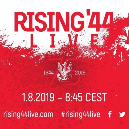 Amazing LIVE Broadcast from the Warsaw Uprising 75th Anniversary