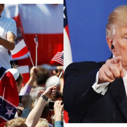 An American President Was Greeted in Poland by the Confederate Flag