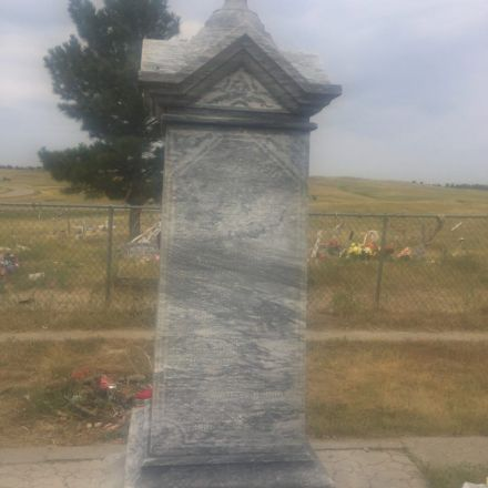 Erik Visits an American Grave, Part 157 The mass grave for 1890 genocidal massacre of the Lakota at Wounded Knee