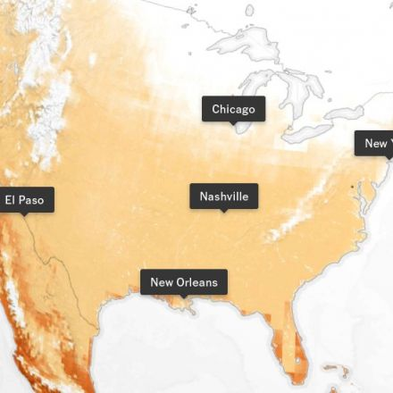 How Much Hotter Is Your Hometown Than When You Were Born?