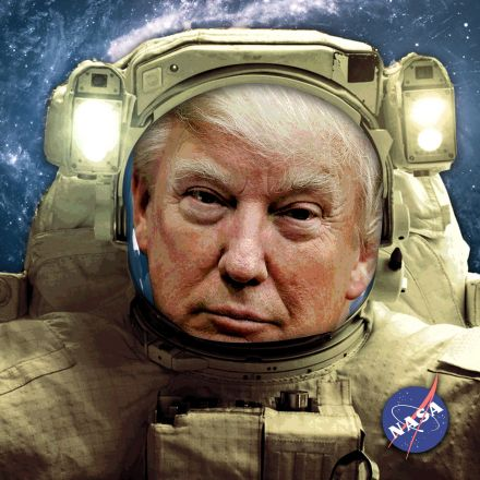 Trump wants to send astronauts back to the moon, but his proposed budget cuts NASA funding close to an all-time low