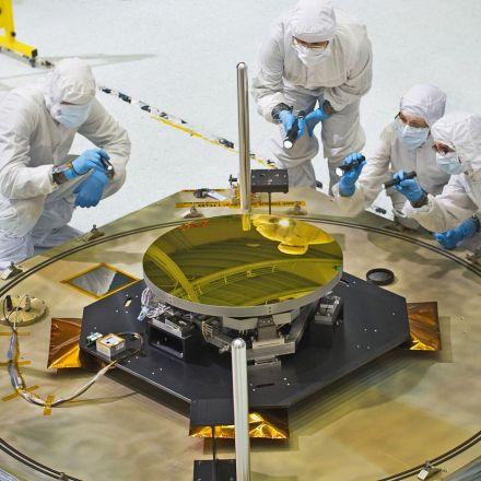 The Beauty of Webb Telescope's Mirrors