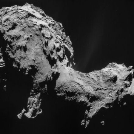 Scientists Discover Weather on Rosetta's Comet