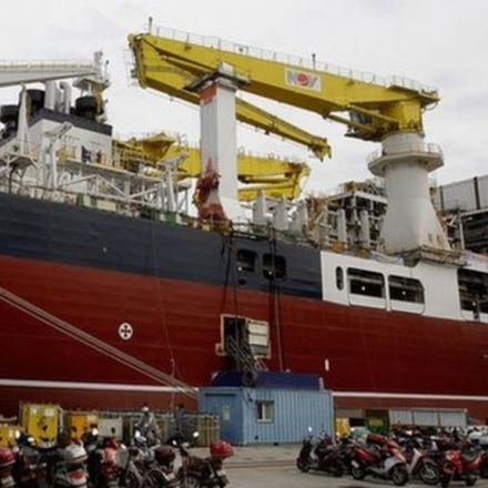 Heavy metal: Life at the world's largest shipyard