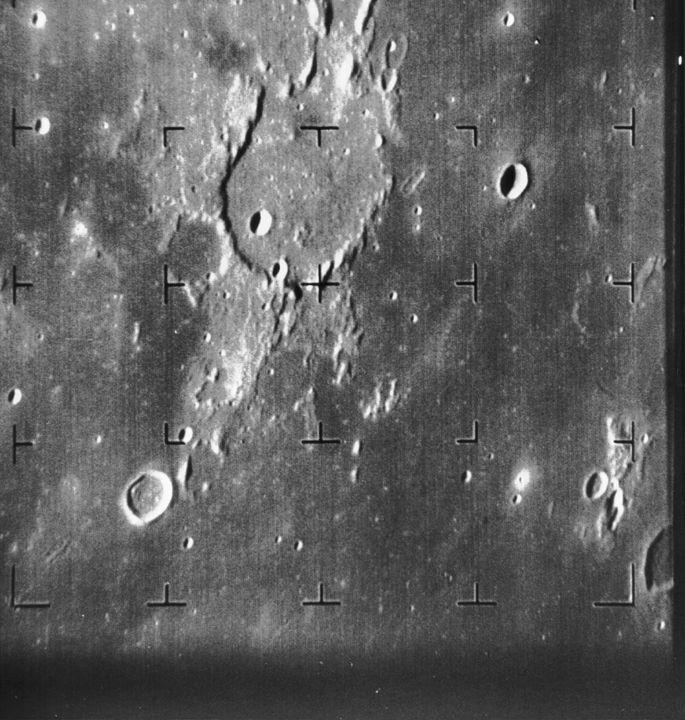 Ranger 7 moon image
