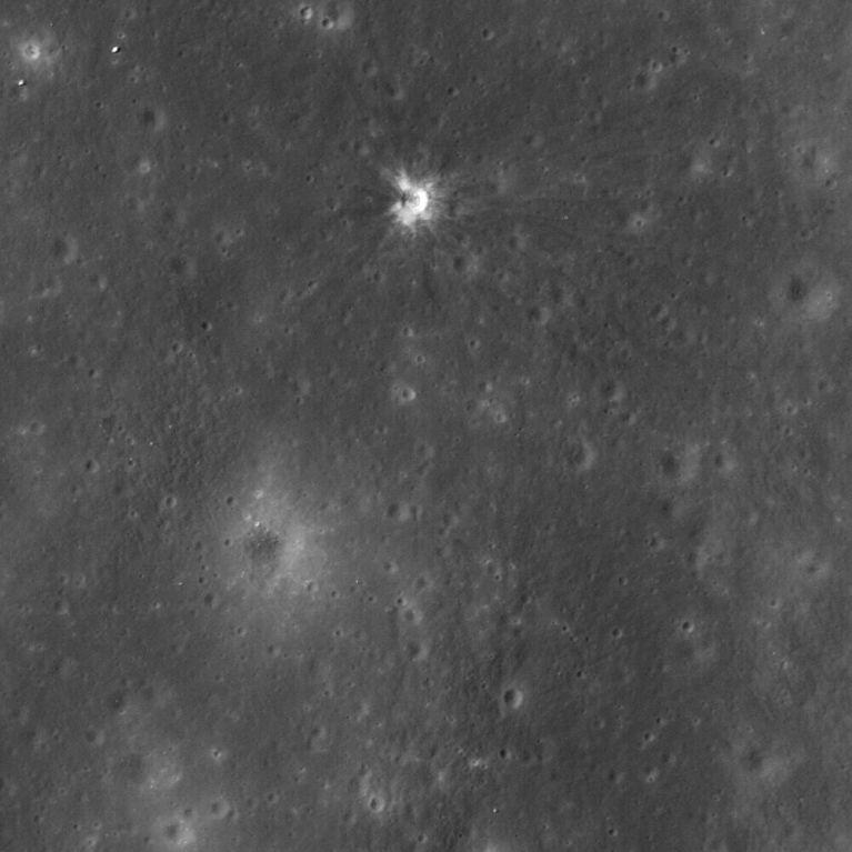 Ranger 7 impact crater