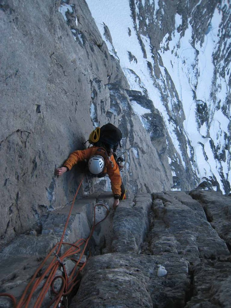 Above the Dificult Crack