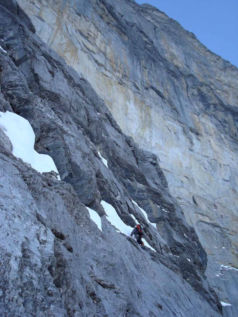Heading for the Dificult Crack