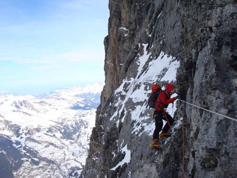The Traverse of the Gods. Heading for the White Spider.