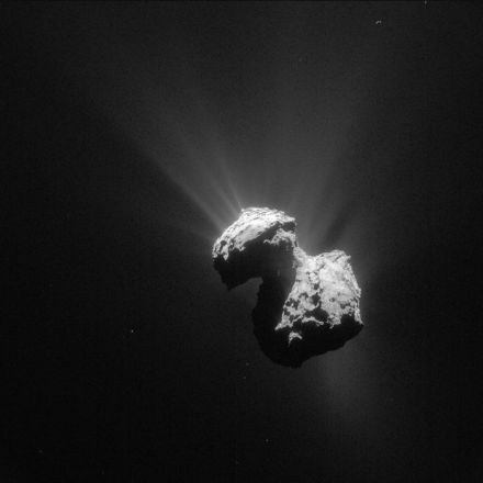 Rosetta's comet is actually a partnership that's lasted billions of years, study says