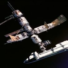 us shuttle joins russian space station - photo #3
