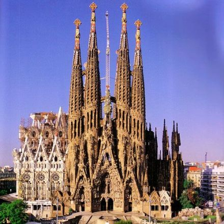 Watch: A 1-Minute Video Shows The Completion Of Gaudí's Sagrada Família