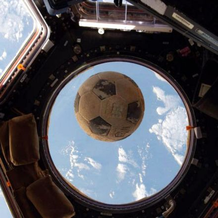 The inside story of the soccer ball that survived the Challenger explosion