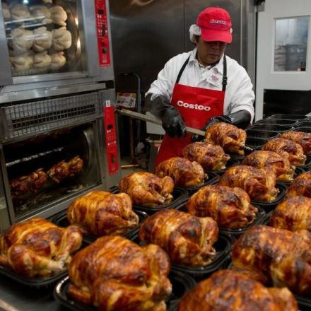 It's only $4.99. But Costco's rotisserie chicken comes at a huge price