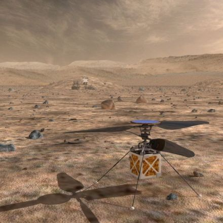 NASA might put a drone on Mars