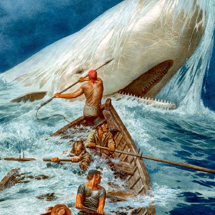 How is the idea of Good and Evil explored in Moby Dick?