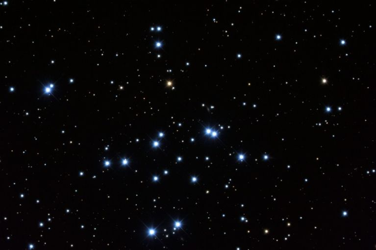 1500 light years distant, somewhere between 180 and 250 million  years old and home to white dwarfs and several binary stars. <br /> <br /> Image credit: www.mistisoftware.com