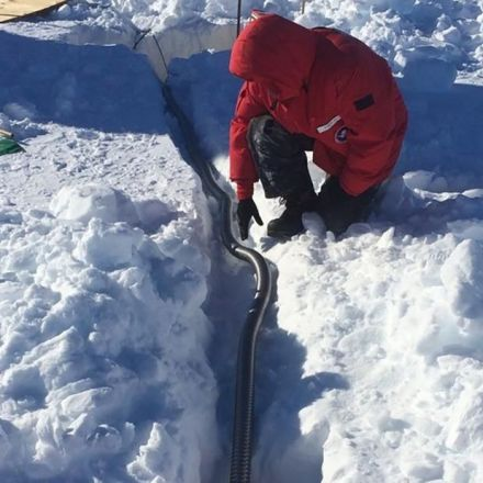 Eerie hum discovered in Antarctica
