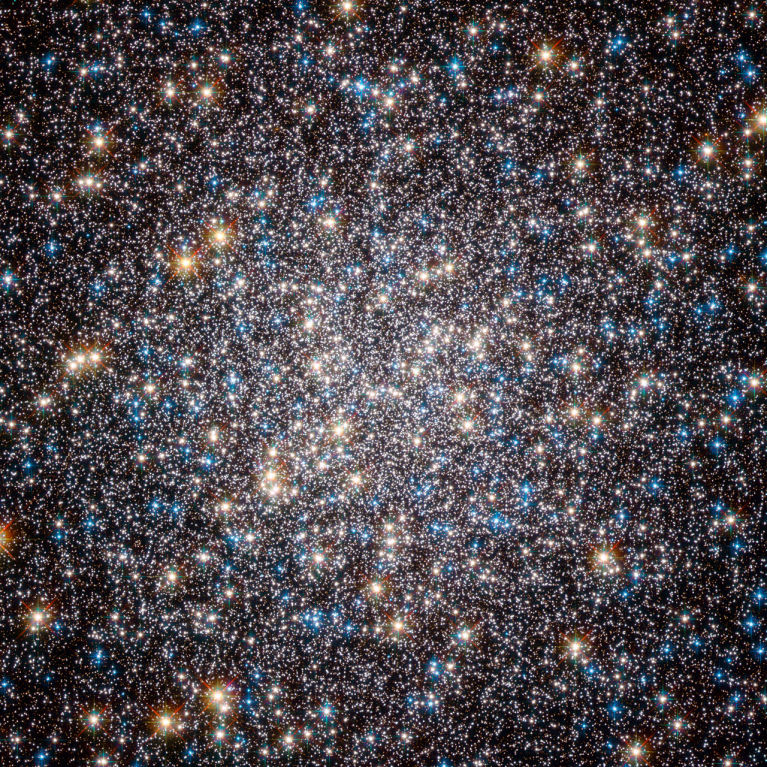 Core of M13, taken by the Advanced Camera for Surveys on the Hubble.