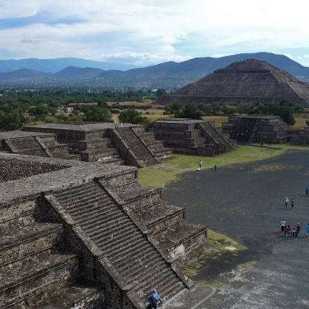 The ancient abandoned city Teotihuacan was designed in a remarkably modern way