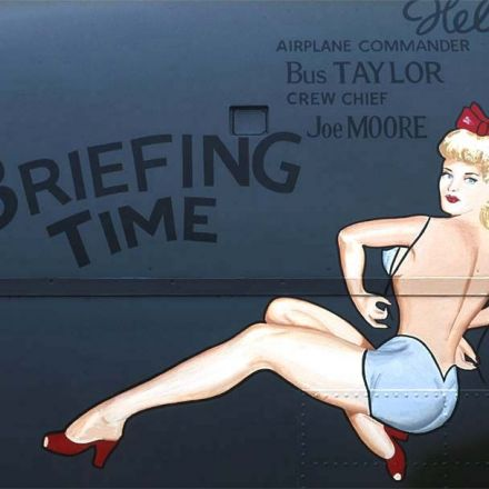 Flying Girls: A Compendium of WW2 Airplane Pin-Ups