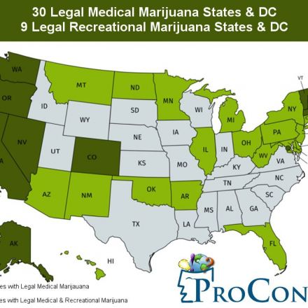Now 60% of all States in the United States Legally Decree Marijuana has Medical Use; 30 Legal Medical Marijuana States and DC