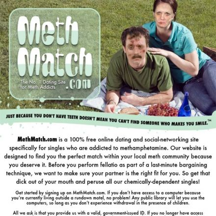 Meth match dating site