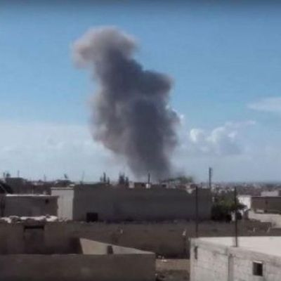 US-backed Syrian rebels claim Russian planes have hit their positions